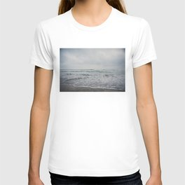 a stormy Pacific Ocean, Oceanside, California T-shirt