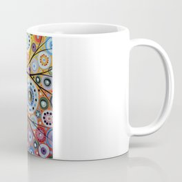 Abstract Art Landscape Original Painting ... Sun Arising Coffee Mug