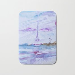 Eyes in the sky Bath Mat