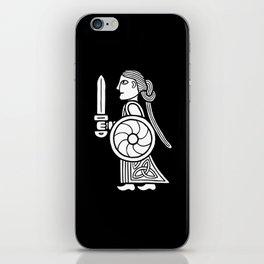 Shieldmaiden I iPhone Skin