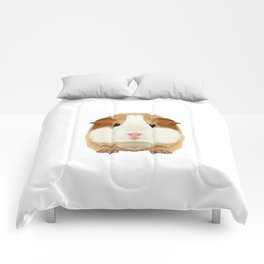 Guinea Pig I Love My Rodent Wheek Gift Idea Comforters