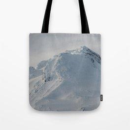 Mt Hood - Early Winter Tote Bag