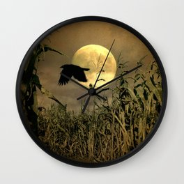 Havest Moon Wall Clock