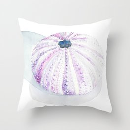 Touched by the Sea Throw Pillow