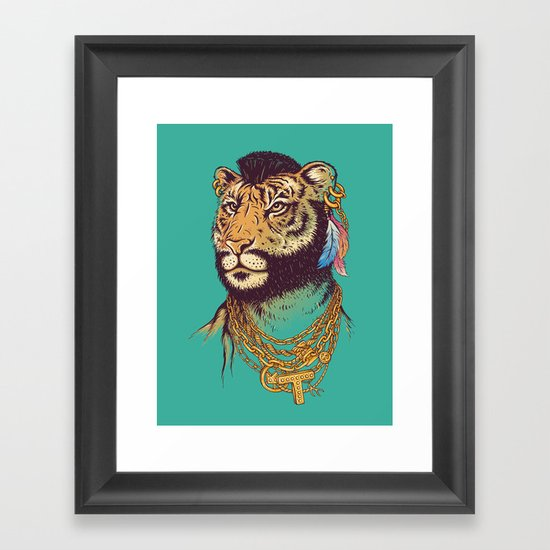 Mr. T(iger) Framed Art Print