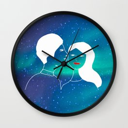 Love is infinite Wall Clock