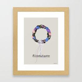 Sixteen Candles Framed Art Print
