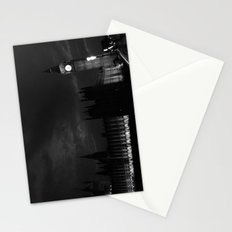 B&W Big Ben  Stationery Cards