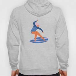 Surf girl Hoody