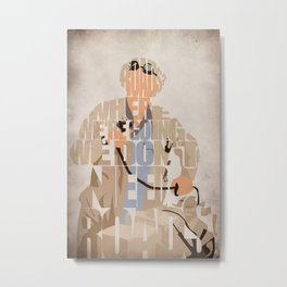 Doc Brown Metal Print