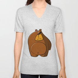 Barry Bear Unisex V-Neck
