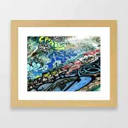 Graffiti is Art Framed Art Print