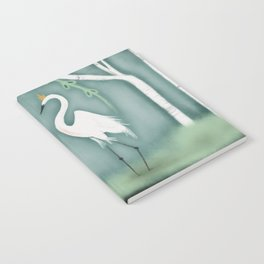 The Crane Princesses Notebook