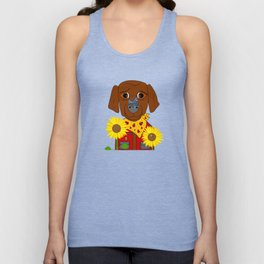 Dog Nature Lover Unisex Tank Top