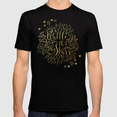 Rattle The Stars MEDIUM Mens Fitted Tee Black
