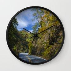 Moutain top  Wall Clock
