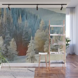"""""""First Snow"""" Wall Mural"""