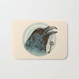 Raven's Head Bath Mat