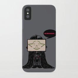 Current Status (Dark Side) iPhone Case