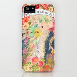 Frida's Pet Cow iPhone Case