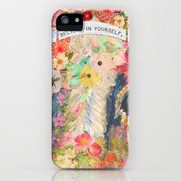 Frida's Pet Cow iPhone Case
