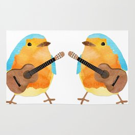 music bird Rug