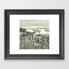 Beauty of Life Framed Art Print