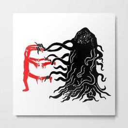 Parasite Metal Print