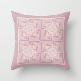 Peace is Soft Tiled Throw Pillow