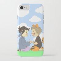 destiel iPhone & iPod Cases featuring WTP! Destiel by psych0tastic