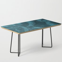 Ferns (light) abstract design Coffee Table