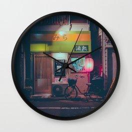 Tokyo's Ramen Restaurants Wall Clock