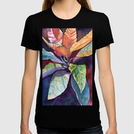 Colorful Tropical Leaves 3 T-shirt