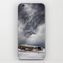 Crash Site Sólheimasandur iPhone Skin