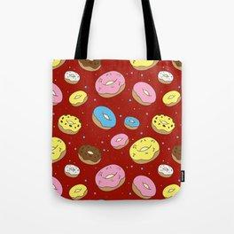 Cute Donuts Tote Bag