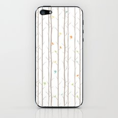 Trees and Birds iPhone & iPod Skin