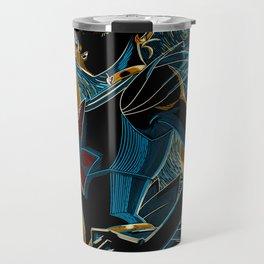 Usagi and the Starry Night Travel Mug