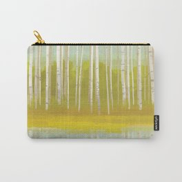 Birch Trees Carry-All Pouch