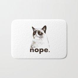 Grumpys Cat Bath Mat