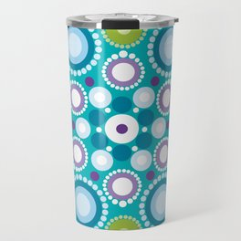 Lotus mandala flower Travel Mug