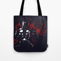 spawn Tote Bags featuring Spawn by Timothy Wood