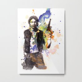 Han Solo From Star Wars  Metal Print