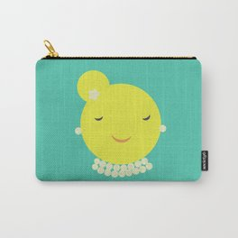 MISS SUNSHINE IN PEARLS Carry-All Pouch