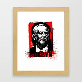 Corbyn 2017 Framed Art Print