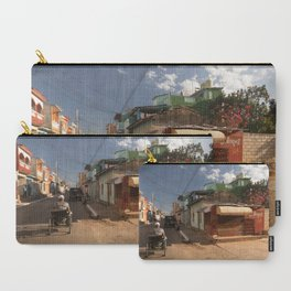 Small market, on the corner of a street, in Trinidad, Cuba. Carry-All Pouch