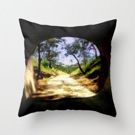 Cheviot Tunnel Throw Pillow