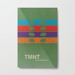 TMNT Metal Print