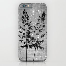 Delicate grasses - light and shadow #2 iPhone Case