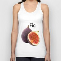 fig Tank Tops featuring Fig by AuntyReni's Creations