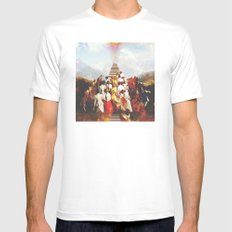 Ascension Mens Fitted Tee White LARGE